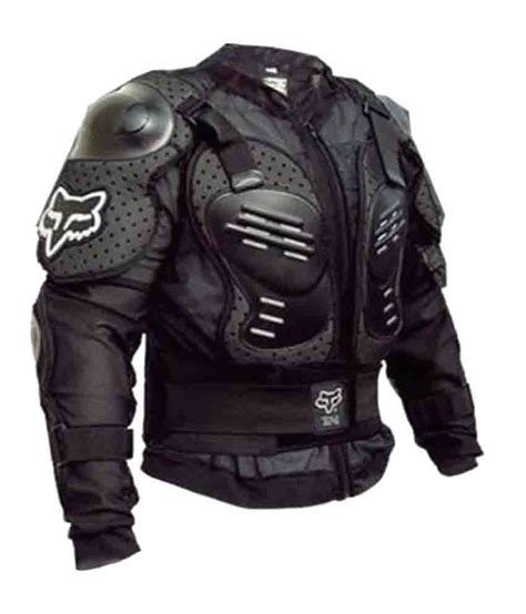 biker jacket fox black armour biker jacket buy fox black armour biker