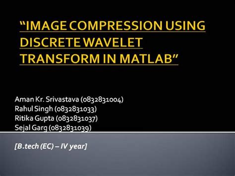 compress pdf content streams image compression using discrete wavelet transform in