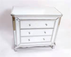 fabulous pair of deco style mirrored chest of drawers