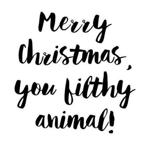 merry christmas  filthy animal pictures   images  facebook tumblr pinterest