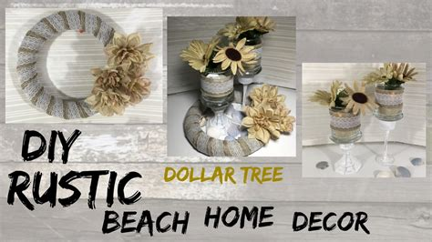 diy rustic dollar tree home decor