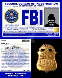 movie fbi credentials v2 by rustybauder on deviantart