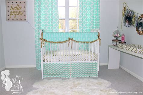 Babybumpbedding Project Nursery Baby Bumping On Crib