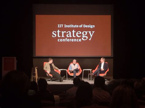 discuss layout strategy iit institute of design strategy conference parr