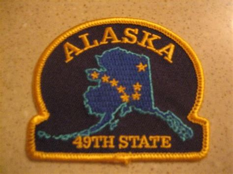 Alaska The 49th State by Tb11tqd Travel Bug Tag Alaska 49th State