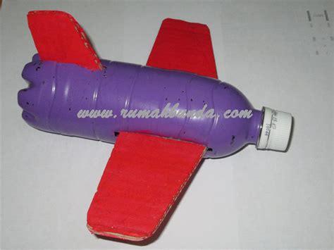 cara membuat pesawat mainan dari barang bekas yang bisa terbang pesawat terbang dari botol plastik bekas