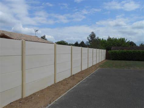 Pose Cloture Beton 3754 by Pose Cloture Beton D Mo De Pose Cloture Plaques B Ton