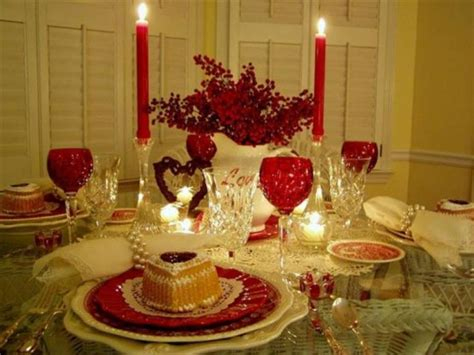 valentines day table decor 25 romantic table d 233 cor variants for the best valentine s