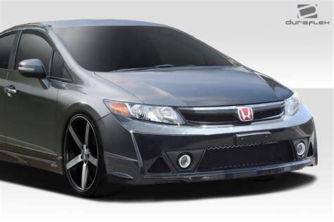 Honda Bumper by Fiberglass Front Bumper Kit For 2012 Honda Civic 4dr