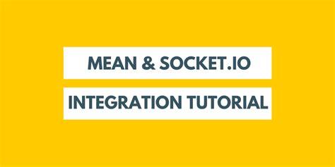 node js mean tutorial mean socket io integration tutorial vexxhost