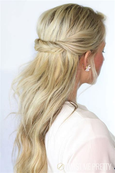 8 Easy and Cute Hairstyles for Lazy Girls   Fashionisers
