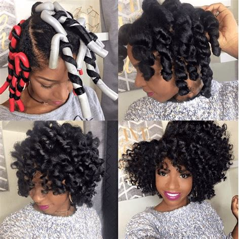 flexi rod hairstyles stunning flexi rod set flexi rods natural and hair style