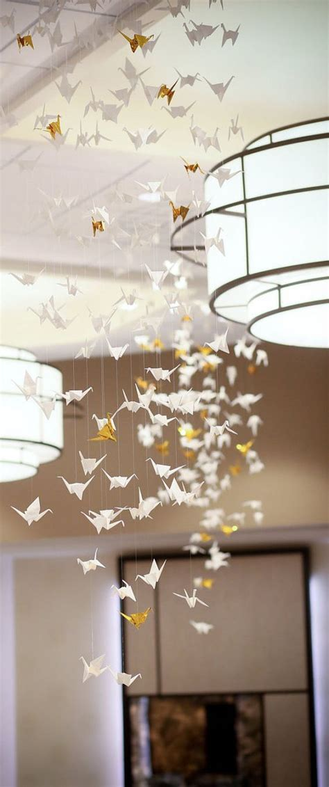 Origami Crane Centerpiece - 1000 ideas about origami wedding on table