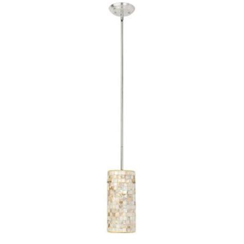 Globe Electric Modern Collection 1 Light Mother Of Pearl Of Pearl Light Fixtures
