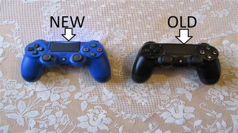 ps4 controller comparison new controller vs controller