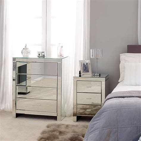 Cheap Mirrored Bedroom Furniture by 7 Cheap Mirrored Bedroom Furniture Sets Facefabskin