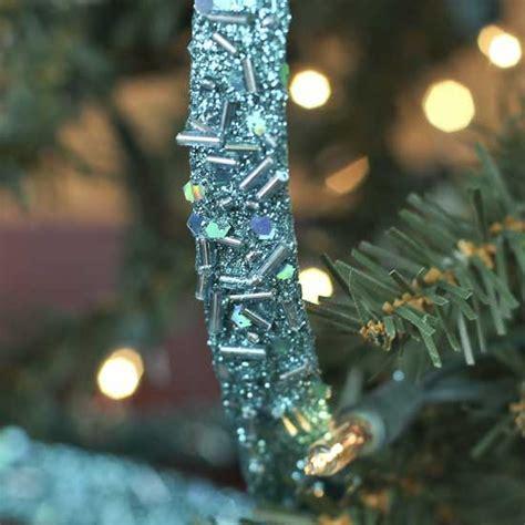 Teal Blue Sparkle Mesh Ribbon Garland   Christmas Garlands