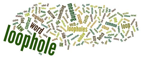 what is a tax loophole with pictures stories words loophole macmillan dictionary