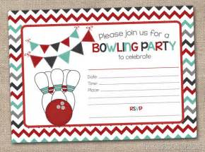 printable bowling party invitation fill in by