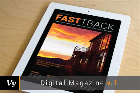 digital magazine template vol 01 magazine templates on