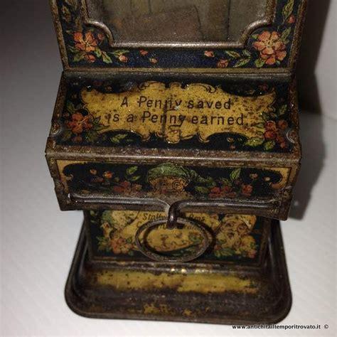 In Vendita Da Banche by Antico Stollwerck Tin Mechanical Banche Antiquariato Su
