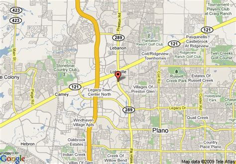 map plano texas map of nylo plano at legacy plano