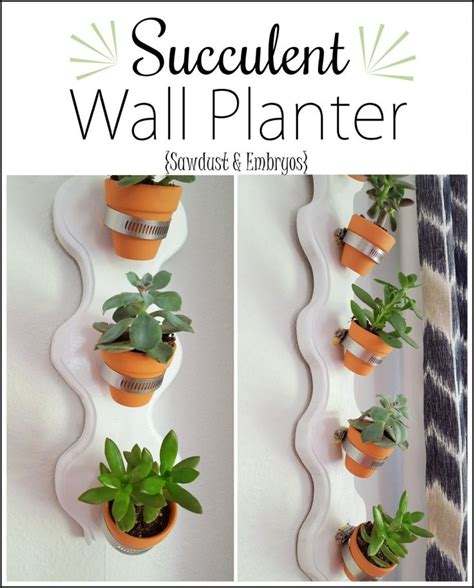 How To Make A Vertical Succulent Planter by Vertical Succulent Planter Tutorial Reality Daydream