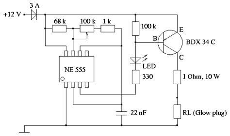 Flasher 12v T Hiace Diesel aquecedor de velas www e voo
