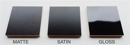 satin vs semi gloss exterior paint which varnish should i use glossy satin or matte