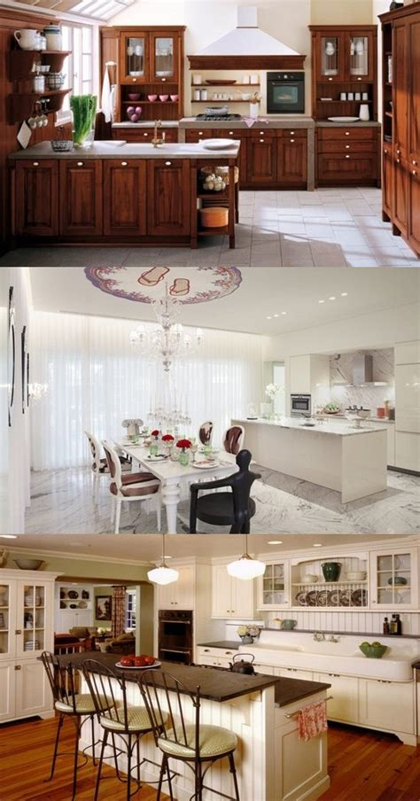 Classic Kitchen And Bath by Stylish Kitchen Design Ideas With Dining Areas Inspired
