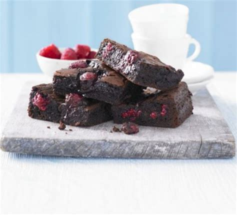 chocolate raspberry brownies best chocolate raspberry brownies recipe food