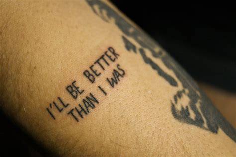 small quote tattoos tumblr quote on