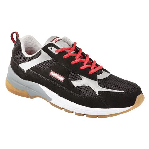 kmart mens athletic shoes craftsman s athletic shoe larry black white