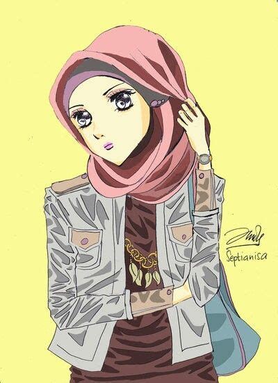 tutorial sketchbook kartun hijab sketch all about hijab pinterest hijabs