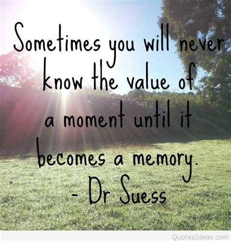 memories quotes dr seuss dr seuss memory quote