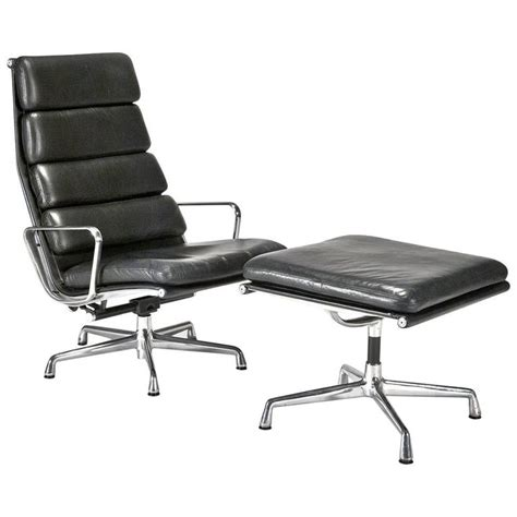 ottoman pad leather soft pad executive chair and ottoman by charles