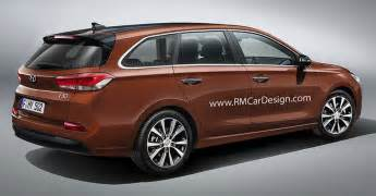 I30 Hyundai Wagon 2017 Hyundai I30 Wagon Should Look Something Like This