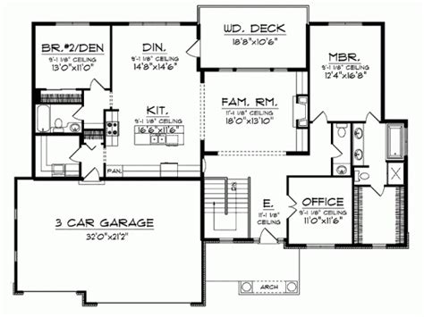 bungalow house plans with basement 85 best 1800 to 2500 sq ft floor plans images on
