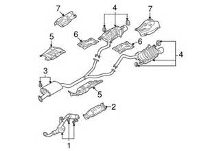 Exhaust System Hyundai Santa Fe Exhaust Components For 2009 Hyundai Santa Fe