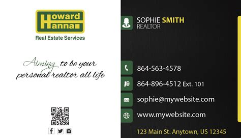 howard business card template howard business cards unique howard business