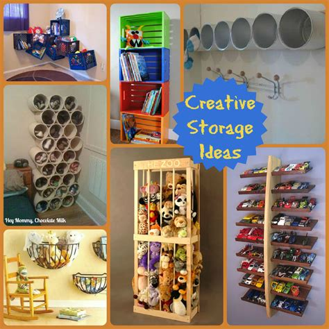 Creative Storage Ideas | hey mommy chocolate milk 20 creative storage ideas