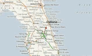 deltona florida map deltona location guide