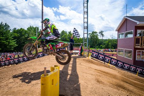 who won the motocross race last night saturday night live southwick motocross racer x online