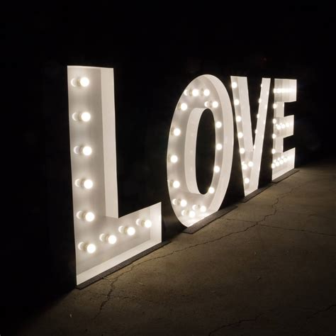 light up letters light up letters stunning 1 2m illuminated marquee