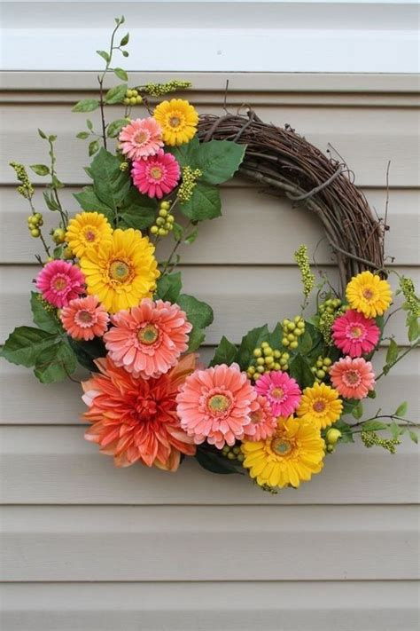 spring wreath diy 25 best ideas about spring wreaths on pinterest wreaths