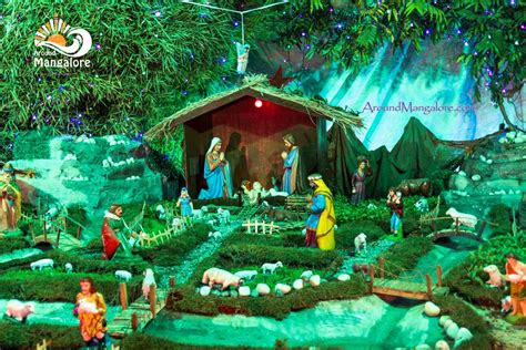 christmas crib compitition images 2016 crib decorations celebrations events more around mangalore around