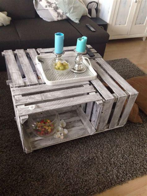 Tisch Weinkisten