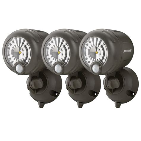 battery operated motion light lowes outdoor motion detector lights battery operated lighting