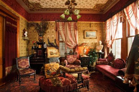 victorian interiors domythic bliss victorian decorating