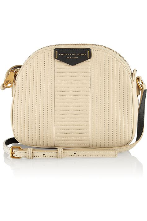 Andrew Marcs Lola Shoulder Bag by Marc By Marc Downtown Lola Twotone Quilted Leather